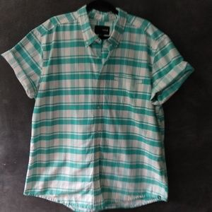 HURLEY | casual short sleeve button-down shirt
